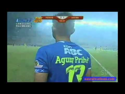 Persib vs Arema 4 november 2014 Full match perpanjangan waktu (3-1)