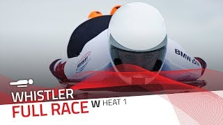 Whistler | BMW IBSF World Cup 2017/2018 - Women's Skeleton Heat 1 | IBSF Official