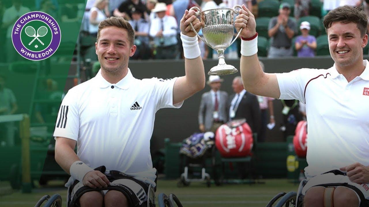 Gordon Reid and Alfie Hewett champions for a third time | Wimbledon 2018
