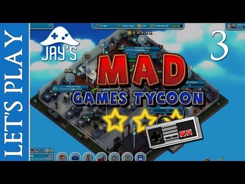 [FR] Let's Play : Mad Games Tycoon - Jay's Industries - Épisode 3