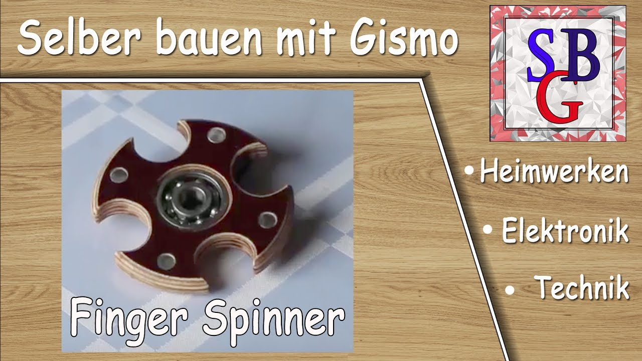 fidget spinner selber machen deutsch youtube. Black Bedroom Furniture Sets. Home Design Ideas