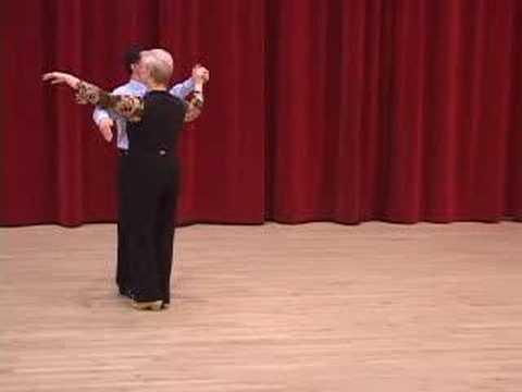 Silver Tango - Review of Basic Steps Ballroom Dance Lesson