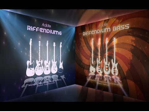 Audiofier RIFFENDIUM 6 (Funky/Disco Guitars) & RIFFENDIUM BASS (Funky/Soul Bass) for Kontakt 5.8 -