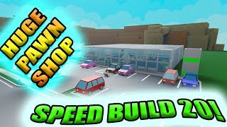 [Roblox: Retail Tycoon] SPEED BUILD 20 - PAWN SHOP