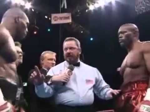 Mike Tyson vs. Clifford Etienne