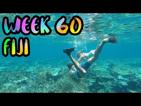 HOW 4 YR OLD Dorothy Learned to Snorkel in Fiji!! /// WEEK 60 : Fiji