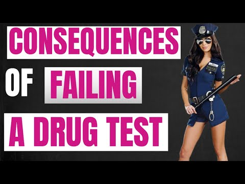 This Will Happen to You If You Fail a Drug Test