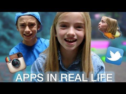 Apps In Real Life | Lauren & Johnny Orlando
