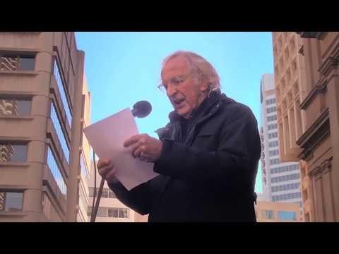 John Pilger\'s speech at Sydney rally to free Julian Assange