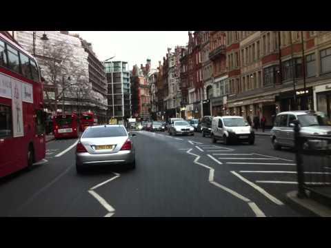 London streets (280.) - Fulham Rd - Harrods - Mayfair