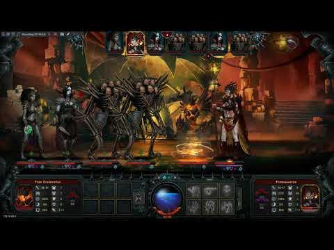 Iratus: Lord of the Dead - Floor 4 Pyromancer Boss : Eternal Harvest Mode |