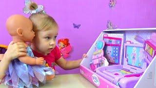 Лечим девочку Беби Борн детский набор Доктора для кукол Baby Born doctor set toy
