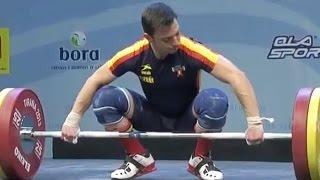 2013 European Weightlifting Championships, Men 56 kg \ Тяжелая Атлетика. Чемпионат Европы
