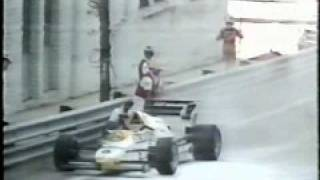 Martin Brundle finishes 2nd in Detroit 1984