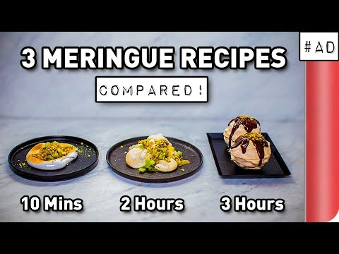 3 Meringue Recipes COMPARED