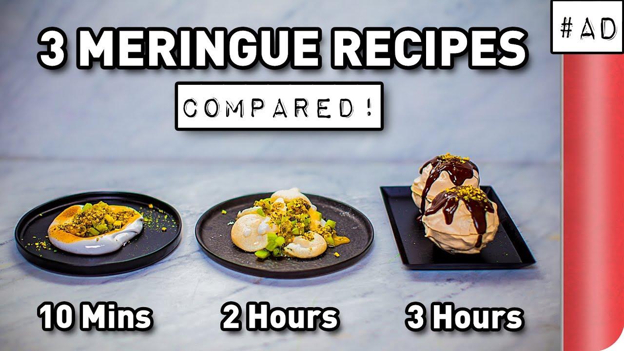 3 Meringue Recipes COMPARED