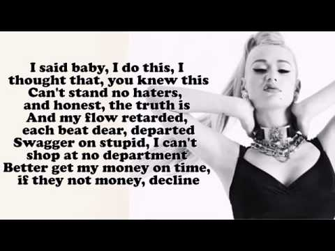 Iggy Azalea ;Fancy; Lyrics On Screen HD