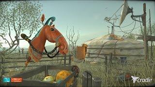 Cradle — Toy Horse | Игрушечная лошадка в Cradle