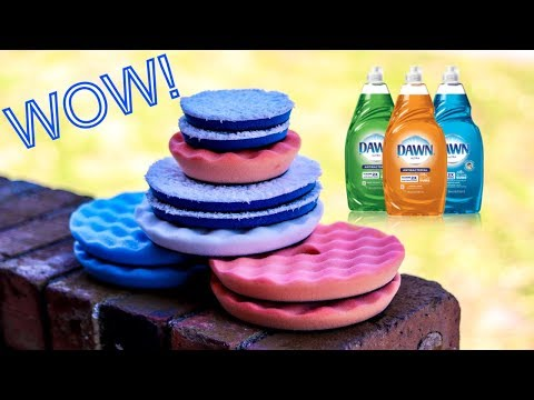 HOW TO: Cleaning Polisher Pads with Dish Soap