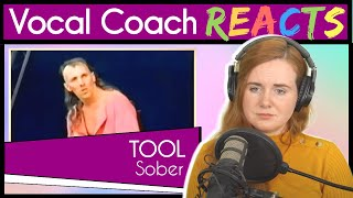 Vocal Coach reacts to Sober by Tool thumbnail