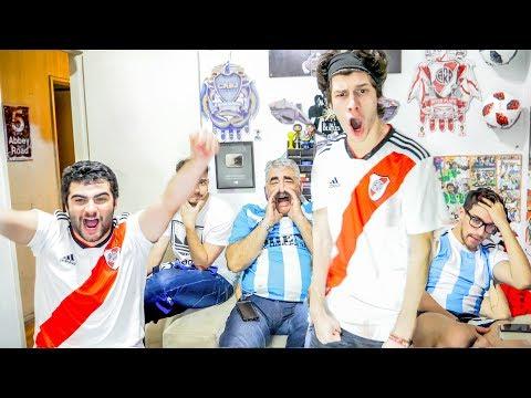 River 3 Racing 0 | Octavos - Copa Libertadores 2018 | Reacciones de Amigos
