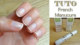 ✿ TUTO ✿ French-Manucure au Naturel Thumbnail