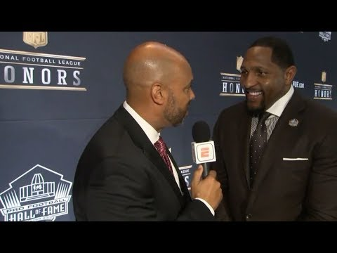 Ray Lewis says Hall of Fame induction is the