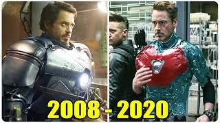 All IRON MAN Suit Up Scenes 2008 - 2020