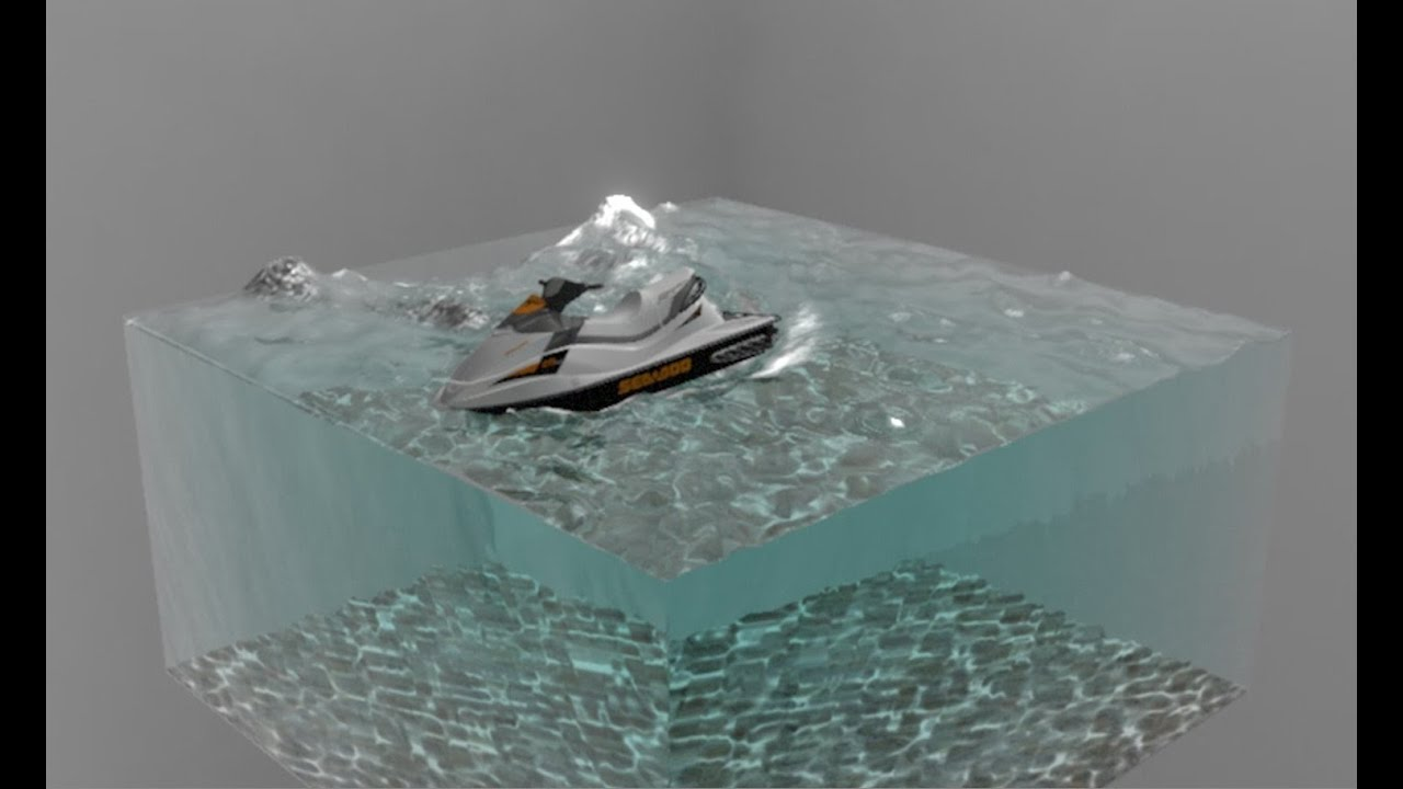 Realistic Water Material In Max 73