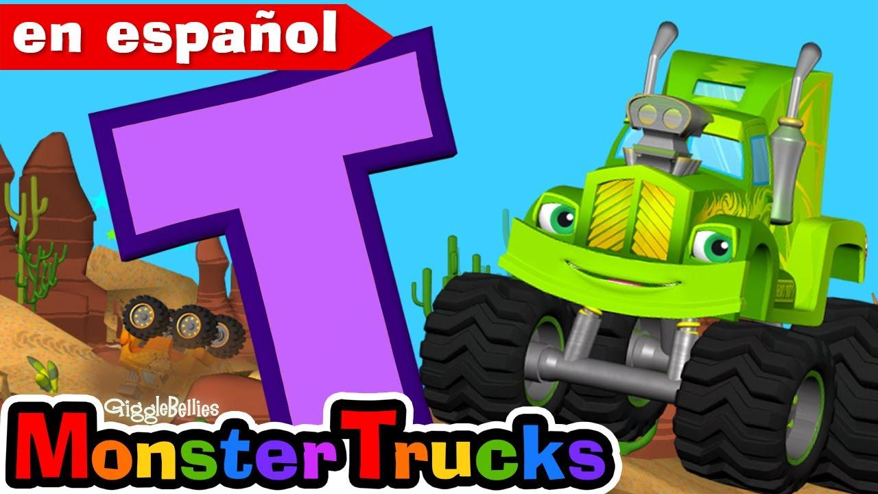 Video de aprendizaje de los días de la semana para niños con Monster Trucks