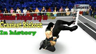 Roman Reigns Top10 Kickouts-Wr3d mods|WRestling ReVolution 3d