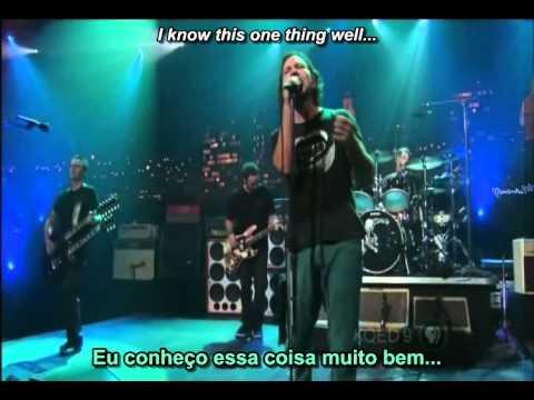 Pearl Jam - Inside Job (legend PORT + INGLÊS)