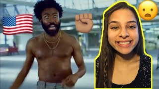 DONALD GLOVER - THIS IS AMERICA (OFFICIAL MUSIC VIDEO) MEANING, REACTION / REVIEW 💯