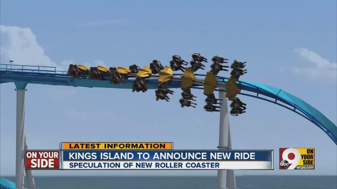 New Ride At Kings Island