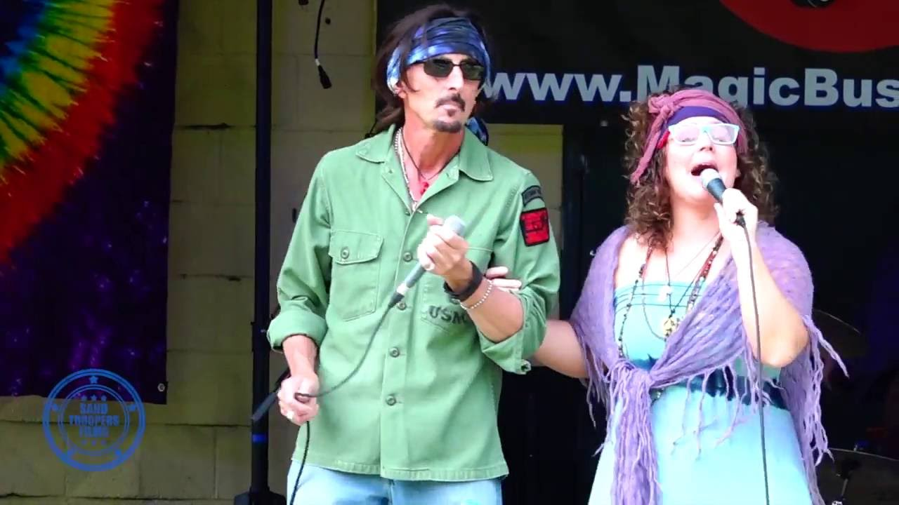 The Magic Bus Band plays Woodstock in Ypsilanti - YouTube