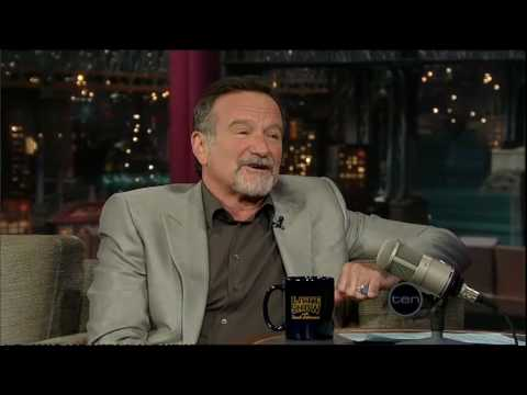 Robin Williams (Letterman)
