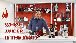 Which Juicer is the Best? Juicing Technology Comparison Video