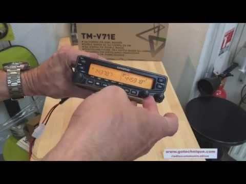Kenwood TMV71E BiBande Radio VHF UHF Presentation GoTechnique