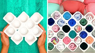 30 SPACE SAVING AND FOLDING TIPS