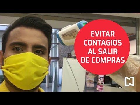 Evitar contagios de coronavirus en supermercados - Sábados de Foro