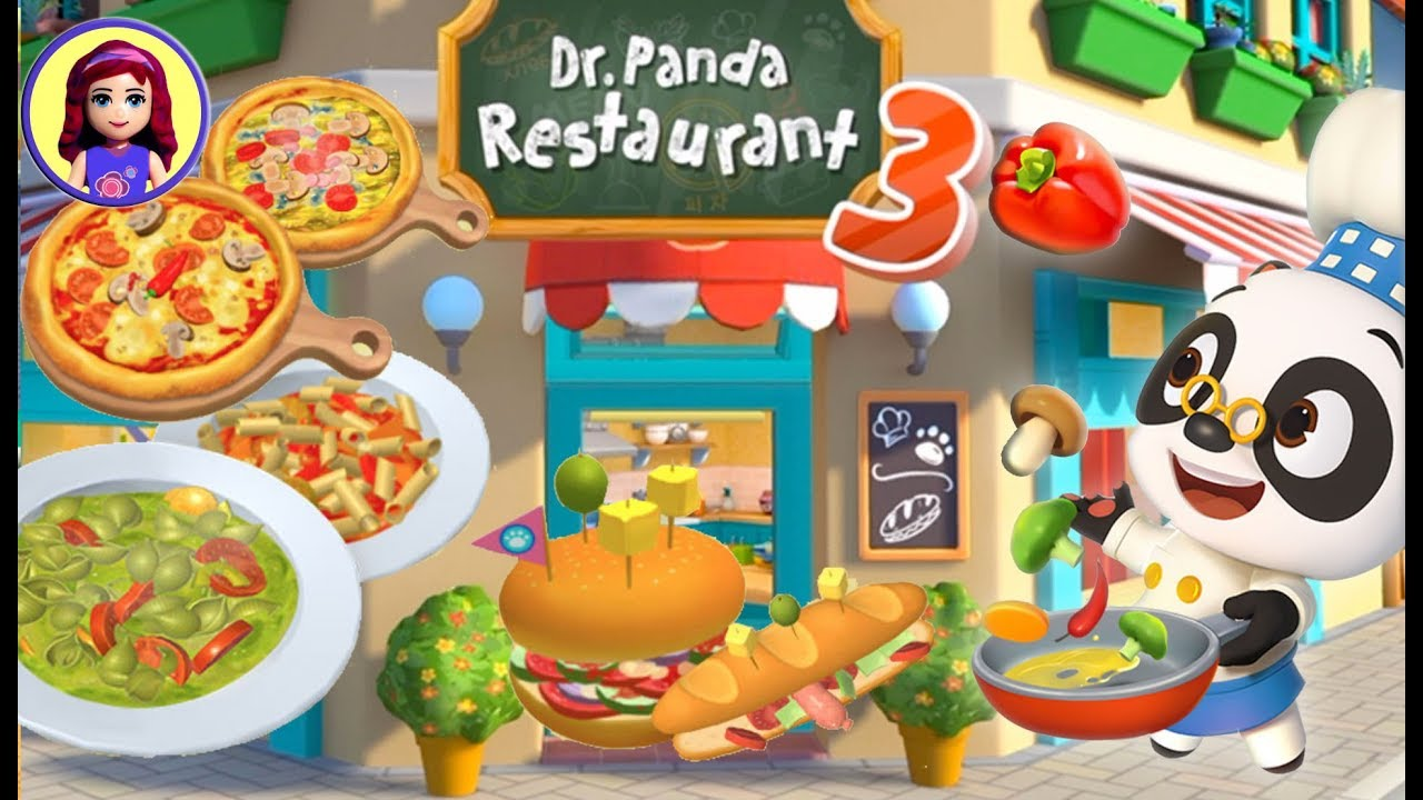 Dr Panda Restaurant 3 App Gameplay With Millie Me Kids