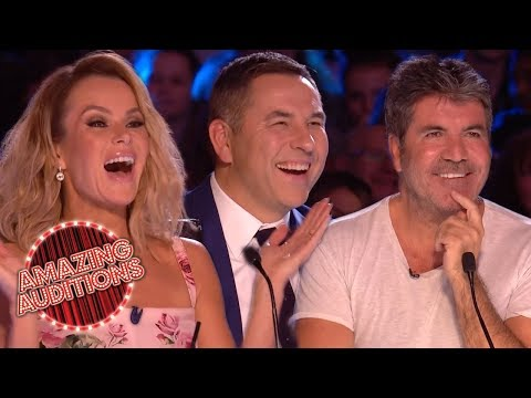 TOP 5 HILARIOUS Celebrity Impressions On Britain's Got Talent!