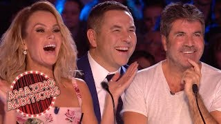 TOP 5 HILARIOUS Celebrity Impressions On Britain's Got Talent!