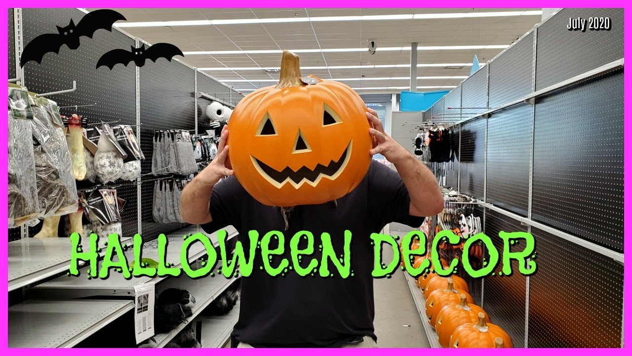 Halloween 2020 July Updates HALLOWEEN HUNTING AT HOME STORE * HALLOWEEN DECOR JULY 2020   YouTube