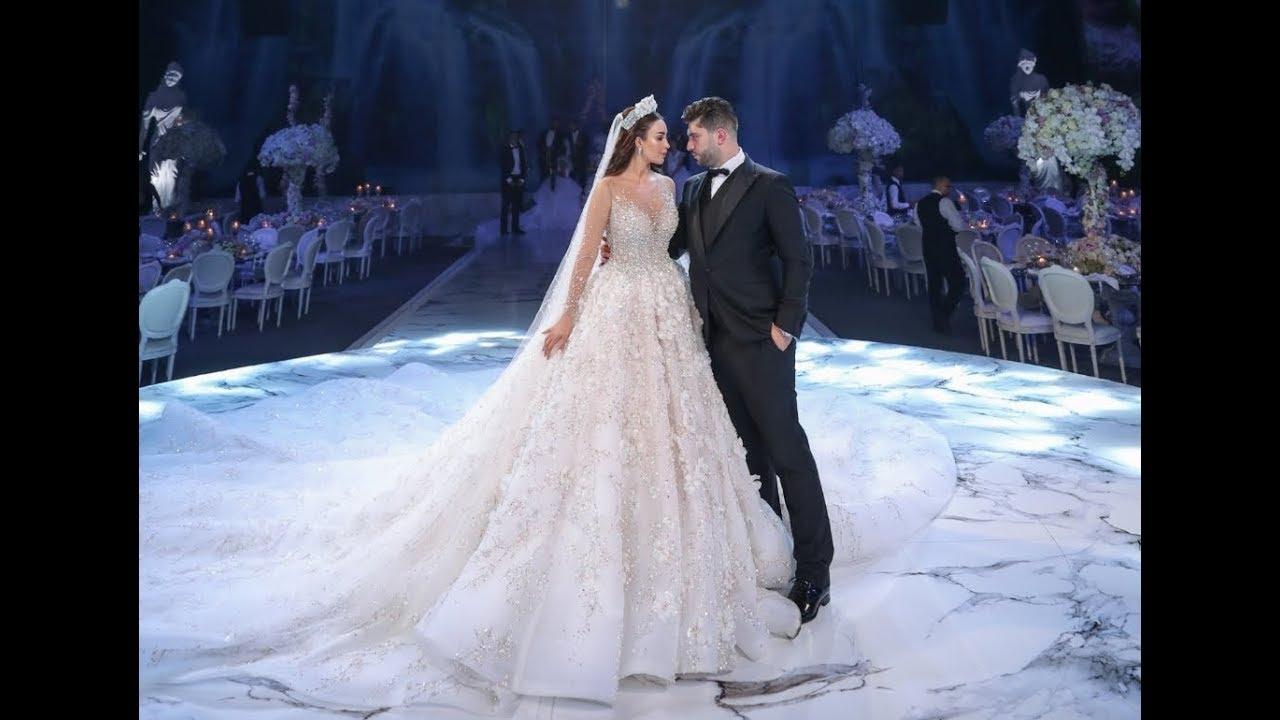 This Luxurious Lebanese Wedding Will Take Your Breath Away Youtube