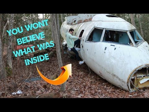 EXPLORING ABANDONED PLANE WRECK