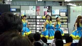 2012年11月11日(日) 町田・鈴木楽器本店にて。 町田のご当地アイドル・...