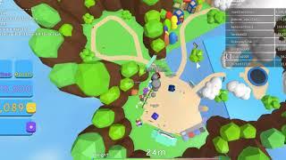 playing roblox bubble sim