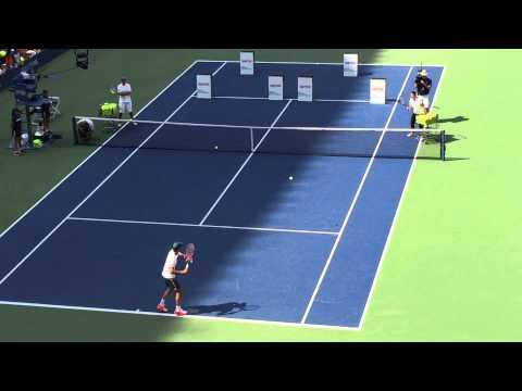 Roger Federer - US Open - Arthur Ashe Kids Day, NY 2015