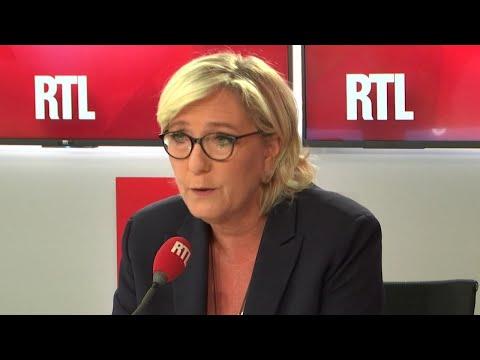 Affaire Benalla, arabe à l'école et finances du RN : Marine Le Pen était l'invitée de RTL